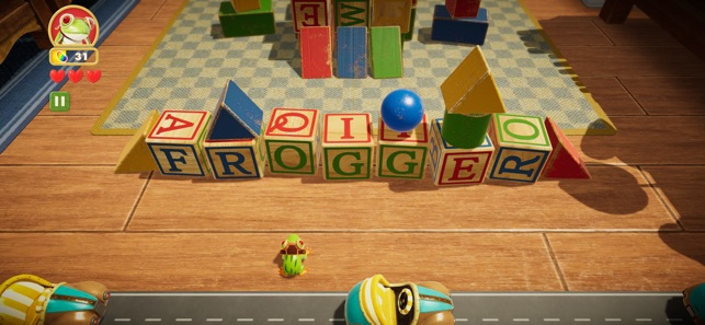 Frogger in Toy Town Screenshot 0