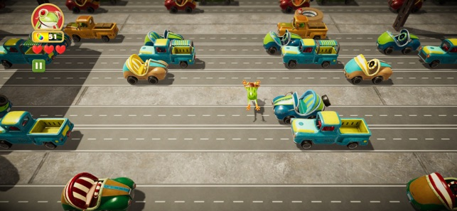 Frogger in Toy Town Screenshot 1
