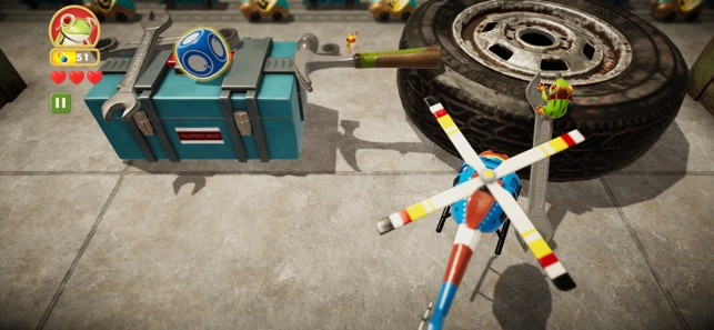 Frogger in Toy Town Screenshot 3