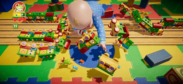Frogger in Toy Town Screenshot 5