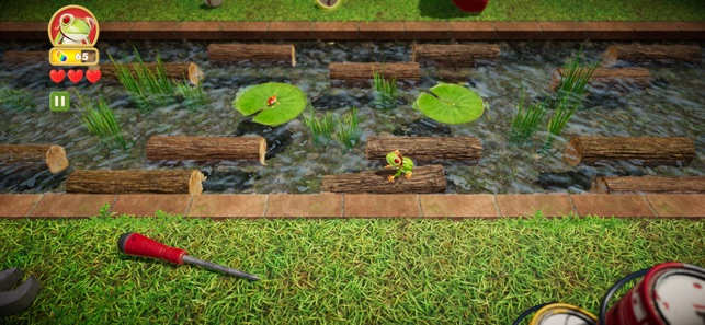 Frogger in Toy Town Screenshot 6